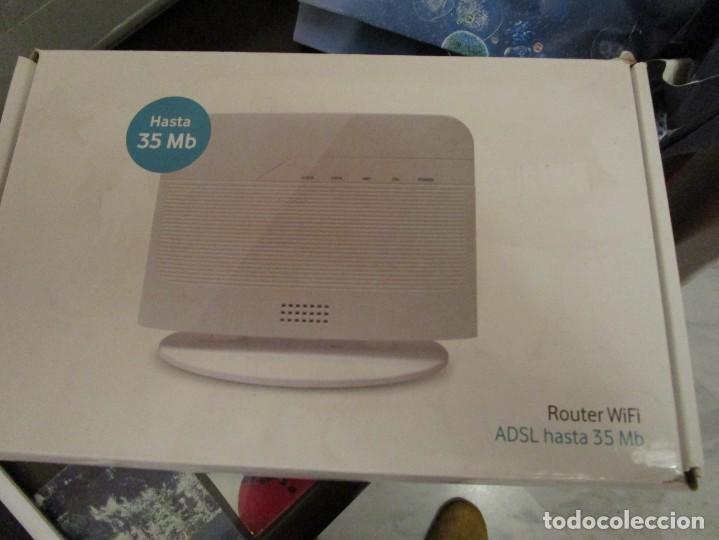 Segunda Mano: 1359. ROUTER WIFI ADSL HASTA 35 MB VODAFONE - Foto 2 - 197145048