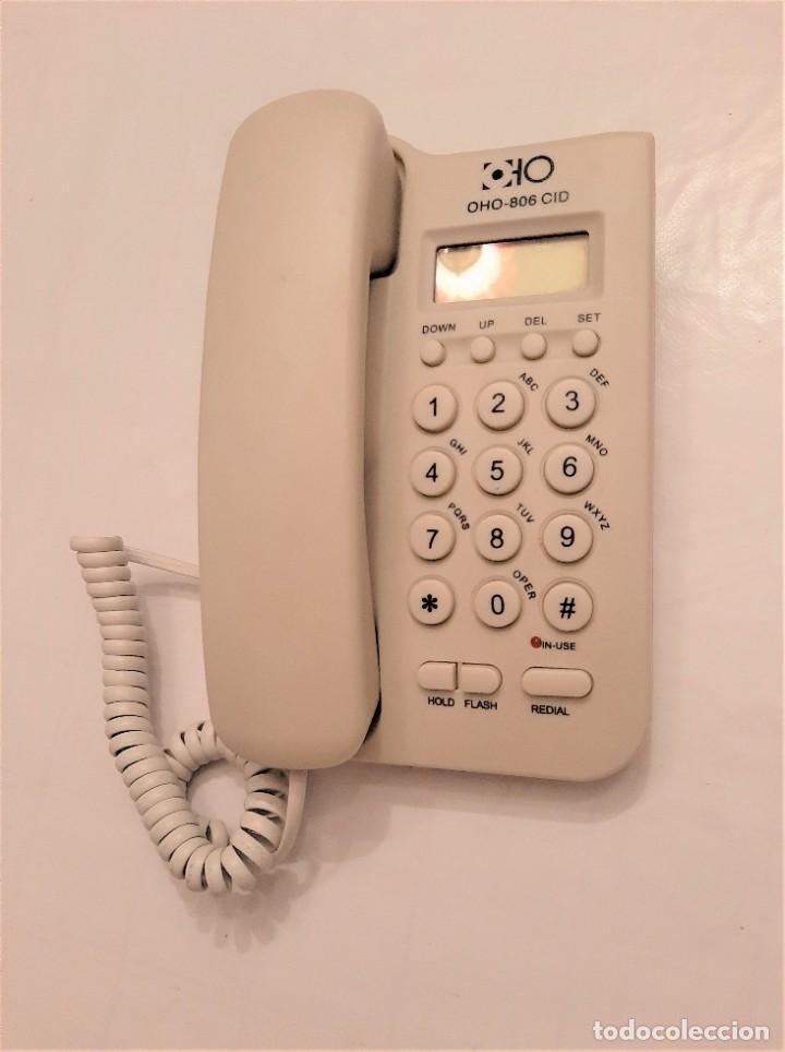 Segunda Mano: Teléfono De Mesa Y Pared 2 En 1 OHO-806CID Pantalla FLASH REDIAL IDENTIFICACIÓN - Foto 2 - 197788781