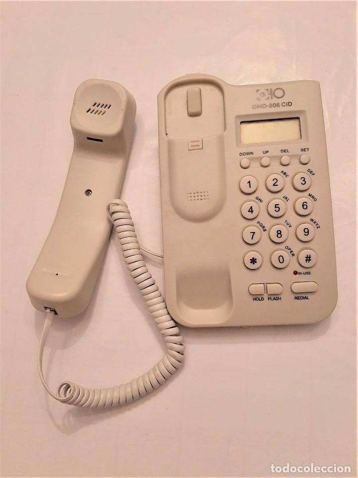 Segunda Mano: Teléfono De Mesa Y Pared 2 En 1 OHO-806CID Pantalla FLASH REDIAL IDENTIFICACIÓN - Foto 3 - 197788781