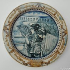 Segunda Mano: PLATO DE CERAMICA FIRMADO POR FERNANDO MIRALLES DE 1926. Lote 198124877