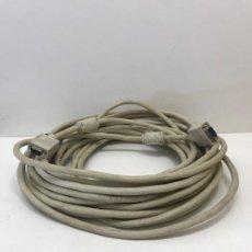 Seconda Mano: CABLE 2 CONECTORES R232 MACHO 20 METROS. Lote 198861530