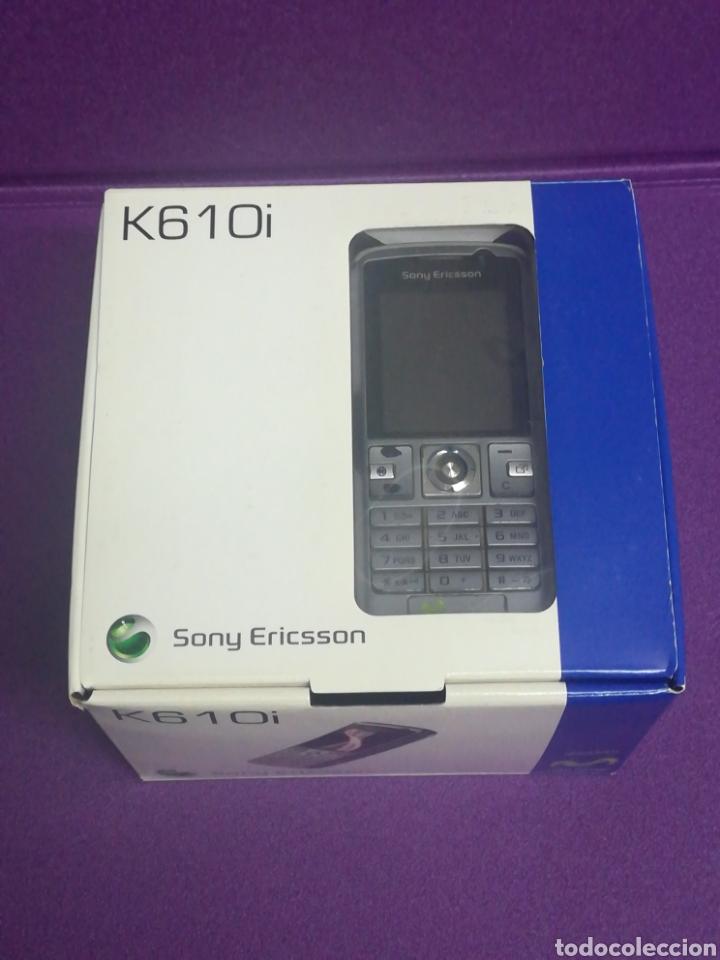 TELÉFONO MÓVIL SONY ERICSSON K610I RETRO ANTIGUO MOVISTAR (Segunda Mano - Artículos de electrónica)