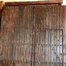 Segunda Mano: TWO-LEAF GATE WITH A THROUGH DOOR. 275X236 CM. - DEUTSCHE – FRANÇAIS - ITALIANO – ESPAÑOL - PORTUGUÊ. Lote 199623950