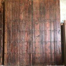 Segunda Mano: TWO-LEAF GATE WITH A DOOR OF PASSAGE. 280X240 CM. - DEUTSCHE – FRANÇAIS - ITALIANO – ESPAÑOL - PORTU. Lote 199624441