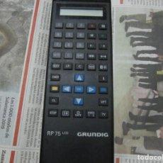 Segunda Mano: MANDO PARA VIDEO VHS GRUNDIG RP 75 LCD. Lote 199990287