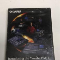 Segunda Mano: DVD INTRODUCING THE YAMAHA PM5D PRECINTADO. Lote 200080251