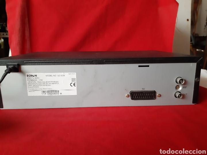 Segunda Mano: VIDIO REPRODUCTOR / GRABADOR VHS ECRON - Foto 2 - 200160077