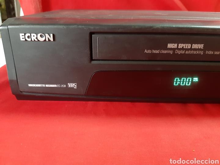 Segunda Mano: VIDIO REPRODUCTOR / GRABADOR VHS ECRON - Foto 6 - 200160077