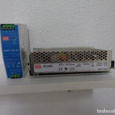 Segunda Mano: AVERIADAS. DOS FUENTES DE ALIMENTACION MEAN WELL MW. ELECTRICISTA TRANSFORMADOR ELECTRÓNICA.. Lote 200381678