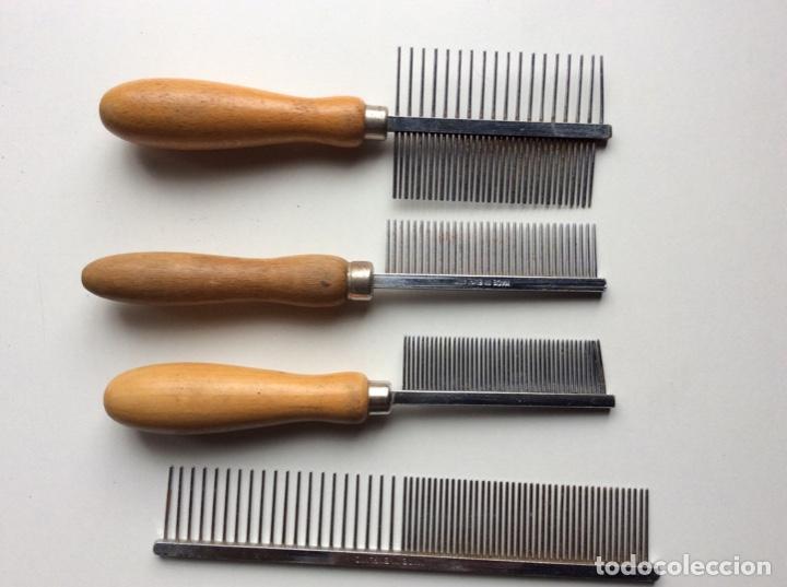 Segunda Mano: Envío 8€.12 Peines cortadores de pelo para perros diferentes marcas. Mirar fotos. Lote muy ventajoso - Foto 6 - 200527615