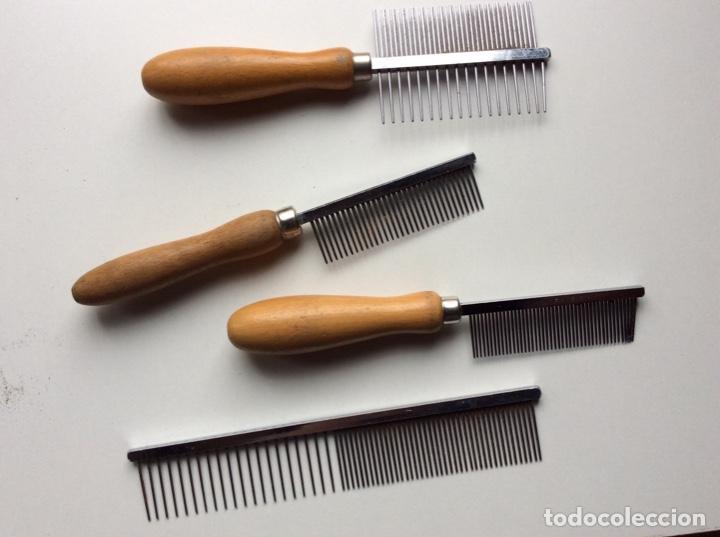 Segunda Mano: Envío 8€.12 Peines cortadores de pelo para perros diferentes marcas. Mirar fotos. Lote muy ventajoso - Foto 7 - 200527615