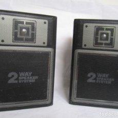 Segunda Mano: ALTAVOCES DE RADIO-CASSETTE. Lote 201216300
