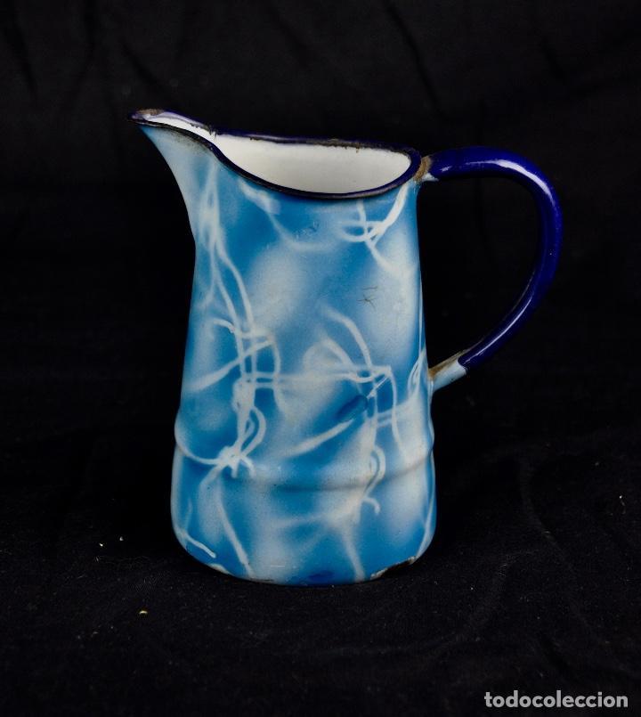 Segunda Mano: Lechera metal esmaltado aguas azules - Foto 3 - 54314441