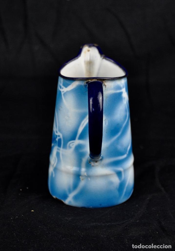 Segunda Mano: Lechera metal esmaltado aguas azules - Foto 4 - 54314441