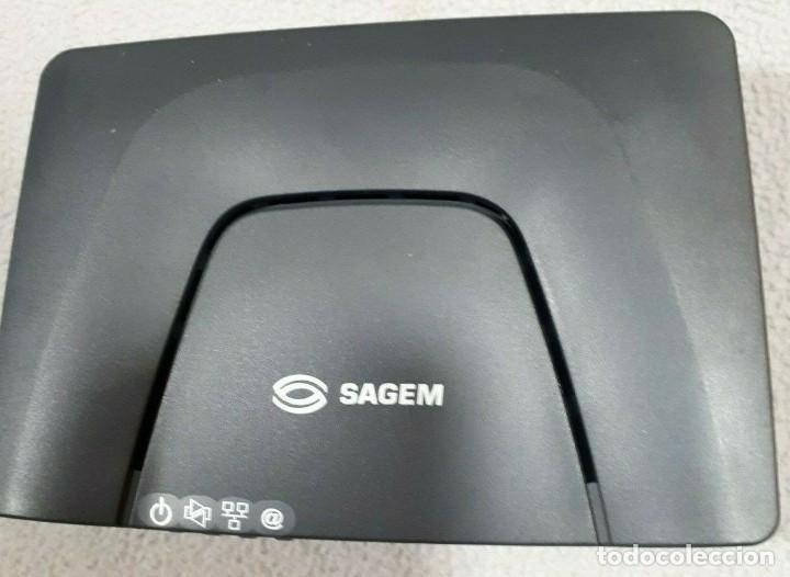 ROUTER SAGEM F@ST 1201 ADSL NUEVO. (Segunda Mano - Artículos de electrónica)