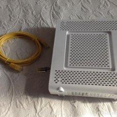 Segunda Mano: ROUTER CBN , TELEFONO,CO CABLE ANTENA Y CONECTOR COAXIAL.MODELO:CH6643E. Lote 202012865