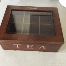 Segunda Mano: RIVERDALE TEA BOX CAJA DE TE. Lote 202538500