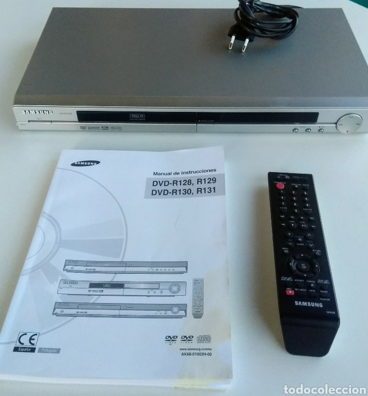 SAMSUNG DVD R128, CON MANDO A DISTANCIA. (Segunda Mano - Artículos de electrónica)