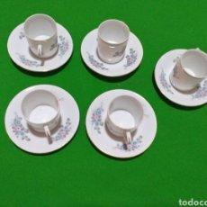 Segunda Mano: TACITAS DE CAFE PORCELANA CHINA. Lote 204433226