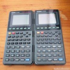 Segunda Mano: DOS CALCULADORAS CASIO FX7700GB, FX7700G PARA PIEZAS O REPARAR. Lote 204451318