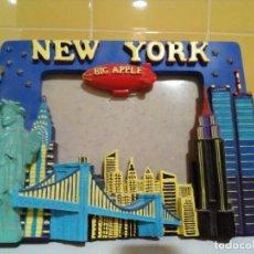 D'Occasion: PORTAFOTOS DE RESINA NEW YORK. Lote 204616268
