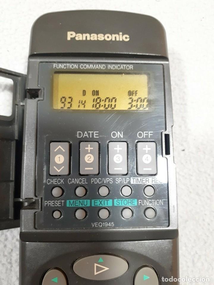 Segunda Mano: Mando A Distancia PANASONIC VEQ1945 para NV-SD420EG Y NV-SD570 - Foto 2 - 204750441