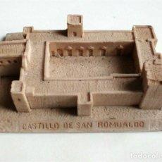 Segunda Mano: MAQUETA DEL CASTILLO DE SAN ROMUALDO (SAN FERNANDO - CÁDIZ) PROPAGANDA DEL PARTIDO ANDALUCISTA. Lote 204776352