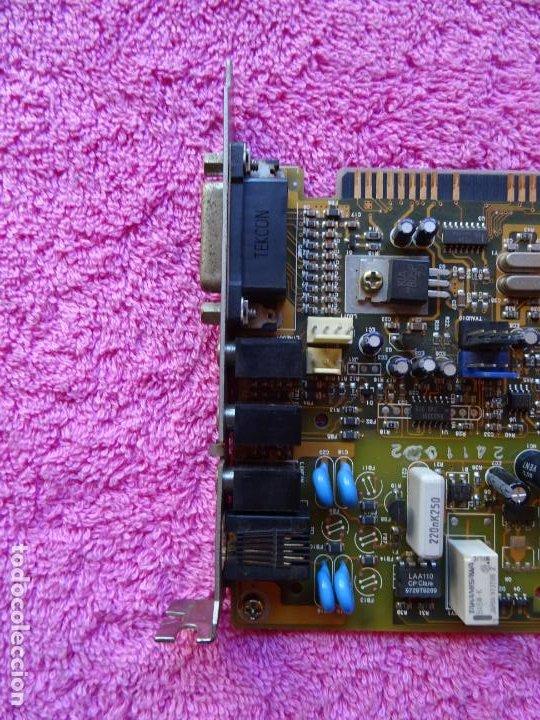 Segunda Mano: tarjeta modem interno fax sound card srs-3d stereo packar bell multimedia cle1225 - Foto 6 - 204790278