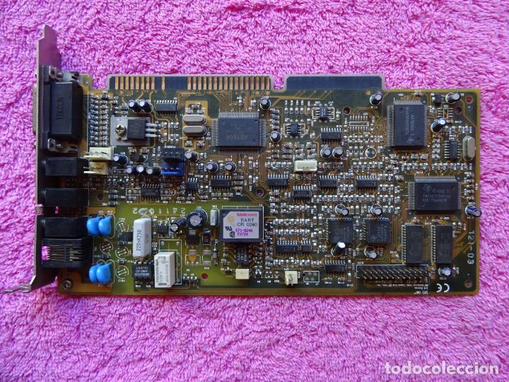 TARJETA MODEM INTERNO FAX SOUND CARD SRS-3D STEREO PACKAR BELL MULTIMEDIA CLE1225 (Segunda Mano - Artículos de electrónica)
