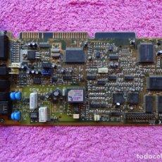 Segunda Mano: TARJETA MODEM INTERNO FAX SOUND CARD SRS-3D STEREO PACKAR BELL MULTIMEDIA CLE1225. Lote 204790278