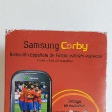 Segunda Mano: SAMSUNG CORBY S3650 MÓVIL EDICIÓN SELECCIÓN ESPAÑOLA DE FÚTBOL. Lote 204840971