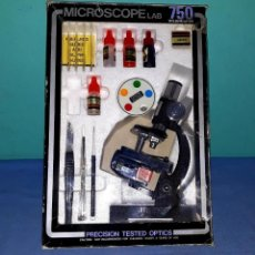 D'Occasion: MICROSCOPIO DIE CAST METAL 750 POWER MADE IN JAPAN AÑOS 80. Lote 205119098