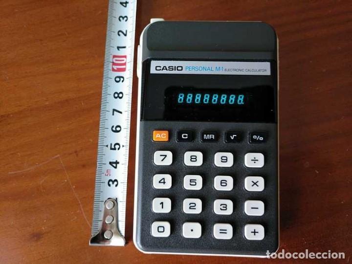 Segunda Mano: CALCULADORA CASIO PERSONAL M1 H-813 ELECTRONIC CALCULATOR AÑOS 70. MADE IN JAPAN FUNCIONANDO - Foto 3 - 205303262