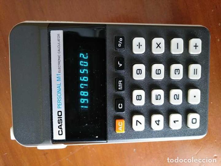 Segunda Mano: CALCULADORA CASIO PERSONAL M1 H-813 ELECTRONIC CALCULATOR AÑOS 70. MADE IN JAPAN FUNCIONANDO - Foto 15 - 205303262