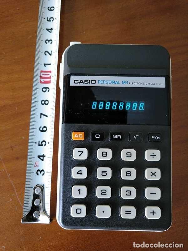 Segunda Mano: CALCULADORA CASIO PERSONAL M1 H-813 ELECTRONIC CALCULATOR AÑOS 70. MADE IN JAPAN FUNCIONANDO - Foto 27 - 205303262
