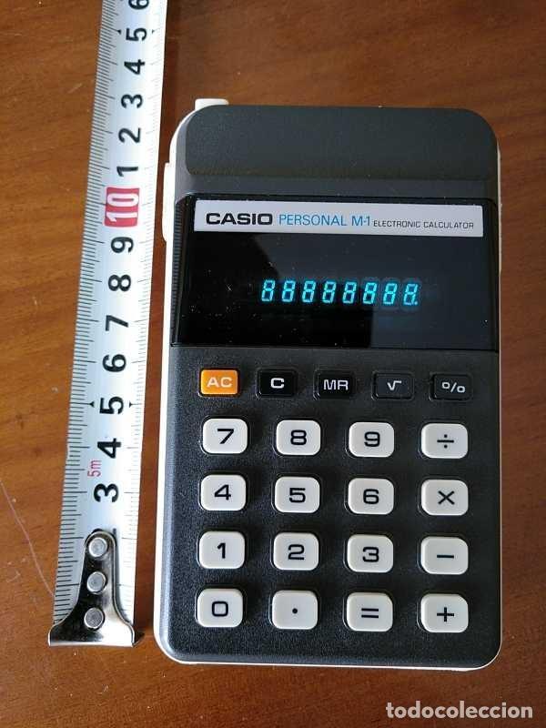 Segunda Mano: CALCULADORA CASIO PERSONAL M1 H-813 ELECTRONIC CALCULATOR AÑOS 70. MADE IN JAPAN FUNCIONANDO - Foto 28 - 205303262