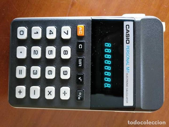Segunda Mano: CALCULADORA CASIO PERSONAL M1 H-813 ELECTRONIC CALCULATOR AÑOS 70. MADE IN JAPAN FUNCIONANDO - Foto 30 - 205303262