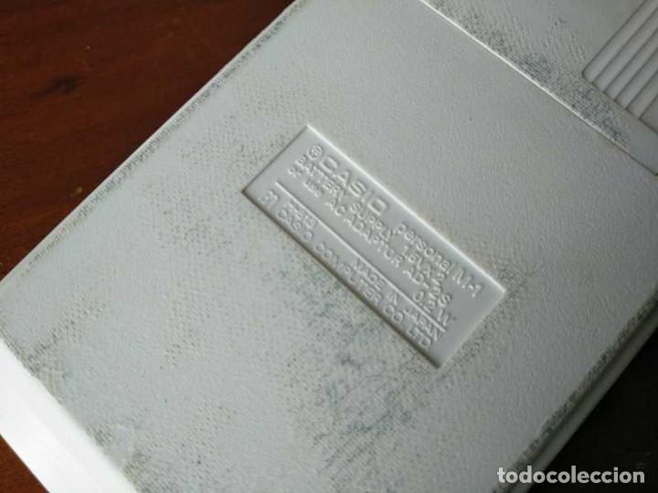 Segunda Mano: CALCULADORA CASIO PERSONAL M1 H-813 ELECTRONIC CALCULATOR AÑOS 70. MADE IN JAPAN FUNCIONANDO - Foto 41 - 205303262
