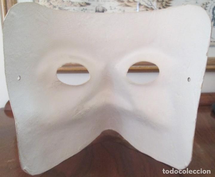Segunda Mano: Pareja de mascaras venecianas. Originales de Venecia, hechas a mano en papel. - Foto 5 - 205357107