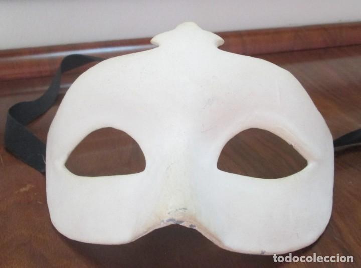 Segunda Mano: Pareja de mascaras venecianas. Originales de Venecia, hechas a mano en papel. - Foto 6 - 205357107
