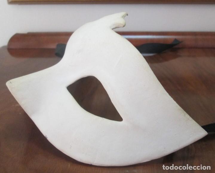 Segunda Mano: Pareja de mascaras venecianas. Originales de Venecia, hechas a mano en papel. - Foto 7 - 205357107