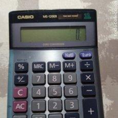 Segunda Mano: CALCULADORA CASIO MS 120ER SOLAR. EURO CONVERSOR. Lote 205440718