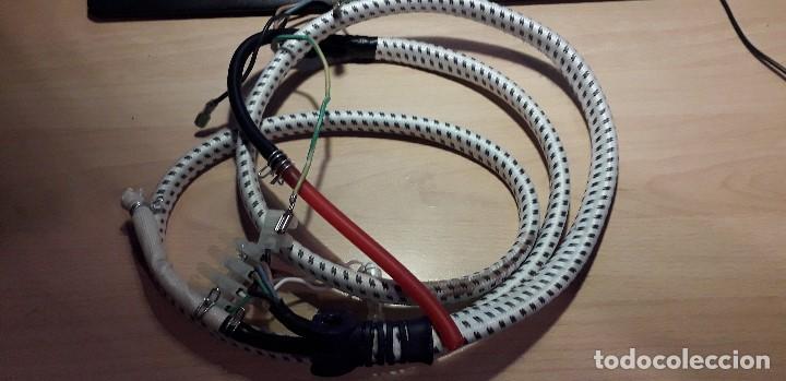 18-00194 -CABLE Y TUBO VAPOR CENTRO DE PLANCHA (Segunda Mano - Artículos de electrónica)