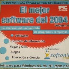 Segunda Mano: PC ACTUAL CD EL MEJOR SOFTWARE DEL 2004 VOLUMEN II. Lote 205740200