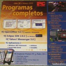 Segunda Mano: PC ACTUAL CD ACTUAL CDA 75 FEBRERO 2003. Lote 205741267
