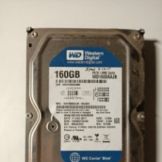 Segunda Mano: DISCO DURO 160GB IDE. Lote 206284402