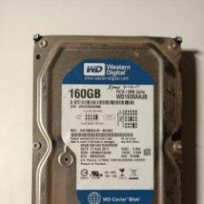 Segunda Mão: DISCO DURO 160GB IDE. Lote 206284402