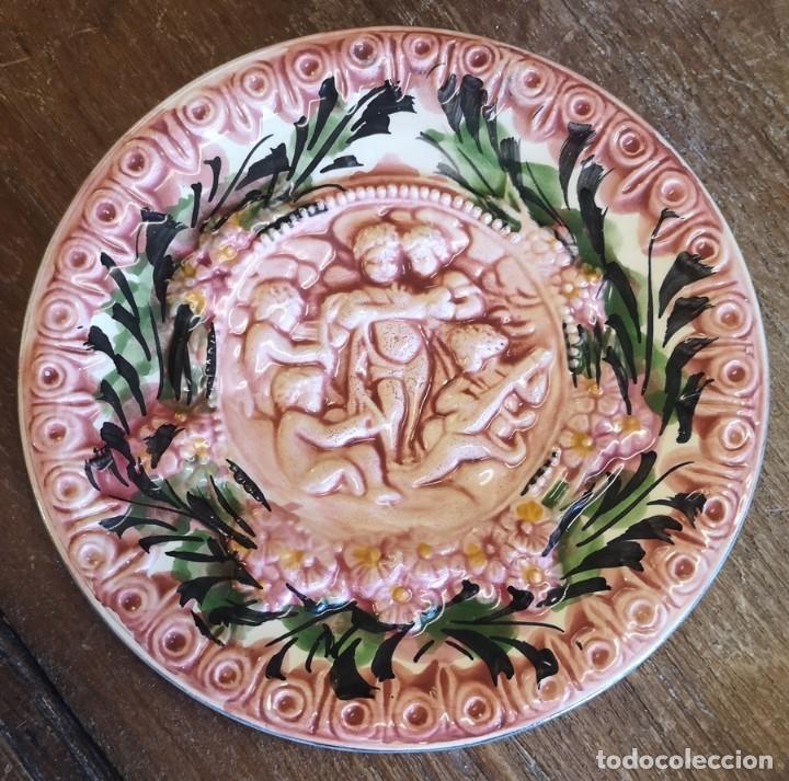 Segunda Mano: Lote 3 Platos Decorativos - Foto 6 - 206390483