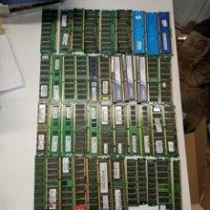 Segunda Mano: LOTE DE MEMORIA RAM VIEJAS 49 MODULOS. Lote 206418673