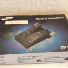 Segunda Mano: TELÉFONO INALÁMBRICO SAMSUNG SP-R915 NUEVO EN SU CAJA CON INSTRUCCIONES. Lote 206438680